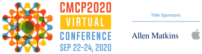 CMCP 2020 Virutal Conference | SEP 22-24, 2020